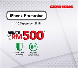 Offers from Senheng in the Petaling Jaya leaflet