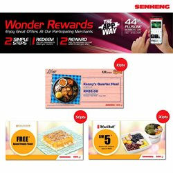 Offers from Senheng in the Johor Bahru leaflet