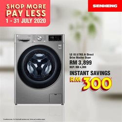 Electronics & Appliances offers in the Senheng catalogue in Putrajaya ( 2 days ago )