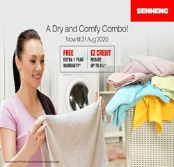 Electronics & Appliances offers in the Senheng catalogue in Johor Bahru ( 1 day ago )