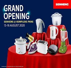 Electronics & Appliances offers in the Senheng catalogue in Klang ( Expires tomorrow )