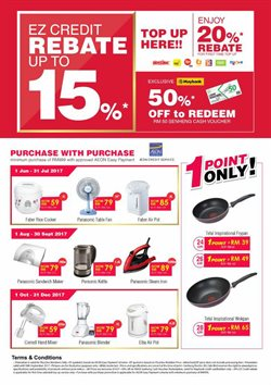 Offers from Senheng in the Melaka leaflet