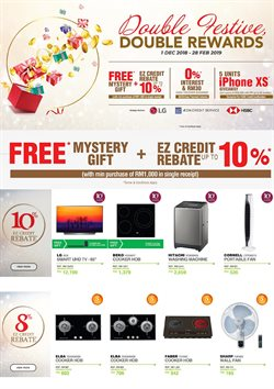Offers from Senheng in the Kuala Lumpur leaflet