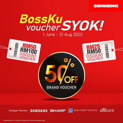 Senheng coupon in Kajang-Bangi ( More than a month )