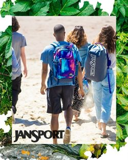 Jansport catalogue in Kota Kinabalu ( More than a month )