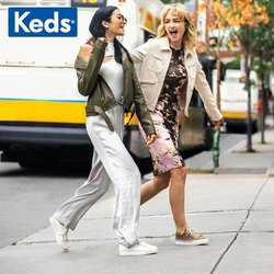 Clothes, shoes & accessories offers in Keds catalogue ( Expires today)