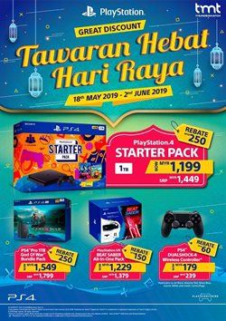 Electronics & Appliances offers in the Playstation catalogue in Kajang-Bangi