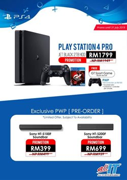 Offers from Playstation in the Kajang-Bangi leaflet