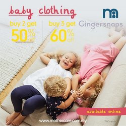 Gingersnaps offers in Gingersnaps catalogue ( 5 days left)