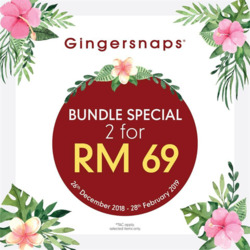 Offers from Gingersnaps in the Kuala Lumpur leaflet