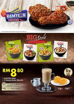 Offers from Texas Chicken in the Sunway-Subang Jaya  leaflet