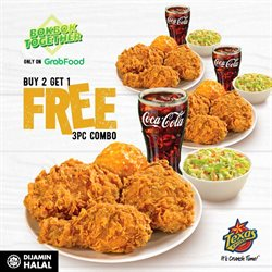 Texas Chicken catalogue ( Expires tomorrow )