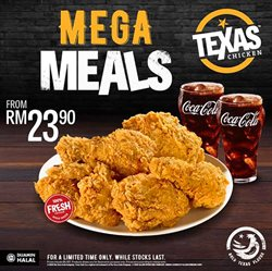 Restaurants offers in the Texas Chicken catalogue in Ipoh ( 2 days ago )