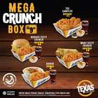 Restaurants offers in the Texas Chicken catalogue in Johor Bahru ( 18 days left )