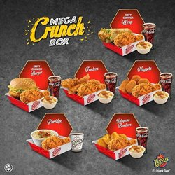 Restaurants offers in the Texas Chicken catalogue in Kuala Lumpur