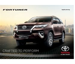 Toyota catalogue in Petaling Jaya ( More than a month )