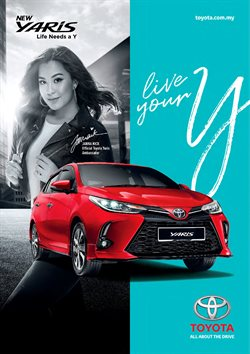 Toyota offers in Toyota catalogue ( More than a month)