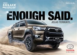Cars, motorcycles & spares offers in Toyota catalogue ( More than a month)