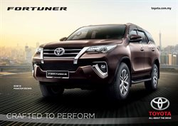 Offers from Toyota in the Johor Bahru leaflet