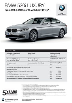 BMW catalogue in Melaka ( More than a month )