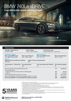 Cars, motorcycles & spares offers in the BMW catalogue in Melaka ( More than a month )