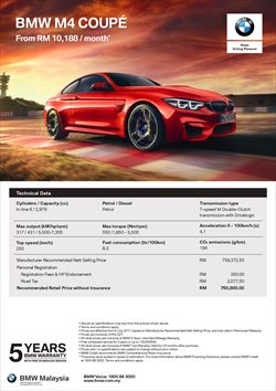Offers from BMW in the Kuala Lumpur leaflet