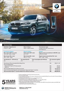 Cars, motorcycles & spares offers in the BMW catalogue in Johor Bahru