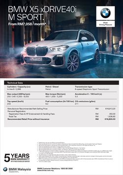 Offers from BMW in the Petaling Jaya leaflet