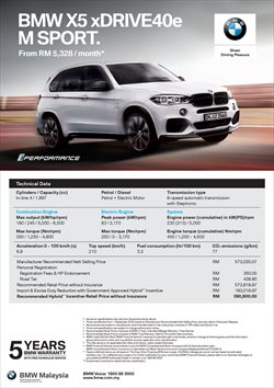 Cars, motorcycles & spares offers in the BMW catalogue in Shah Alam