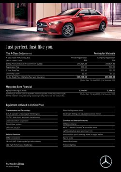 Mercedes-Benz offers in Mercedes-Benz catalogue ( More than a month)