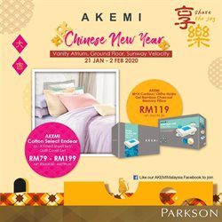 Offers from Akemihome in the Shah Alam leaflet