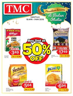 Offers from TMC Bangsar in the Kuala Lumpur leaflet