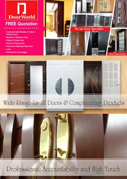 Offers from Door World in the Klang leaflet