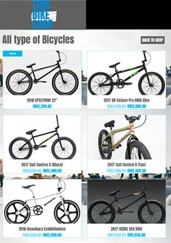Offers from TRM Bike Shop in the Johor Bahru leaflet