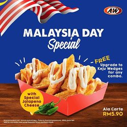 Restaurants offers in the A&W catalogue in Kuala Terengganu