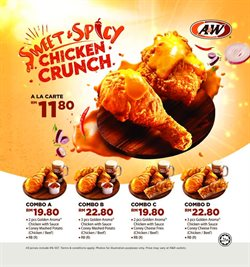 Restaurants offers in the A&W catalogue in Kuala Terengganu ( 16 days left )