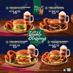 Offers from A&W in the Petaling Jaya leaflet