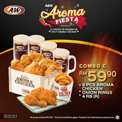 Perda City Mall offers in the A&W catalogue in Penang