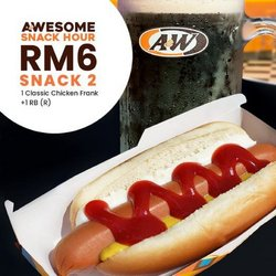 Restaurants offers in A&W catalogue ( More than a month)