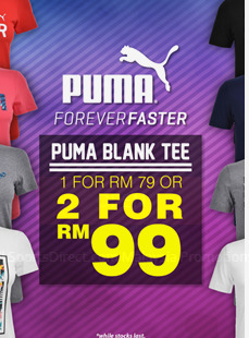 Offers from SportsDirect in the Kuala Lumpur leaflet