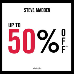 Offers from Steve Madden in the Kuala Lumpur leaflet