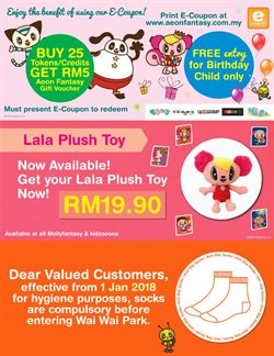 Kids, Toys & Babies offers in the Aeon Fantasy catalogue in Kedah