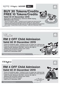 Kids, Toys & Babies offers in the Aeon Fantasy catalogue in Seremban