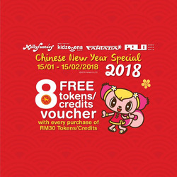 Offers from Molly Fantasy in the Kuala Lumpur leaflet