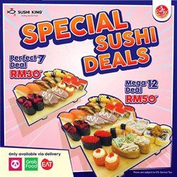 Restaurants offers in the Sushi King catalogue in Penang ( 2 days left )