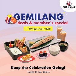 Restaurants offers in Sushi King catalogue ( 10 days left)