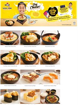 Offers from Sushi King in the Johor Bahru leaflet