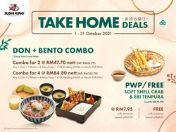 Restaurants offers in Sushi King catalogue ( 15 days left)
