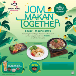 AEON BiG Alor Setar offers in the Sushi King catalogue in Kedah