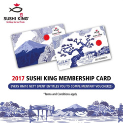 Offers from Sushi King in the Kuala Lumpur leaflet